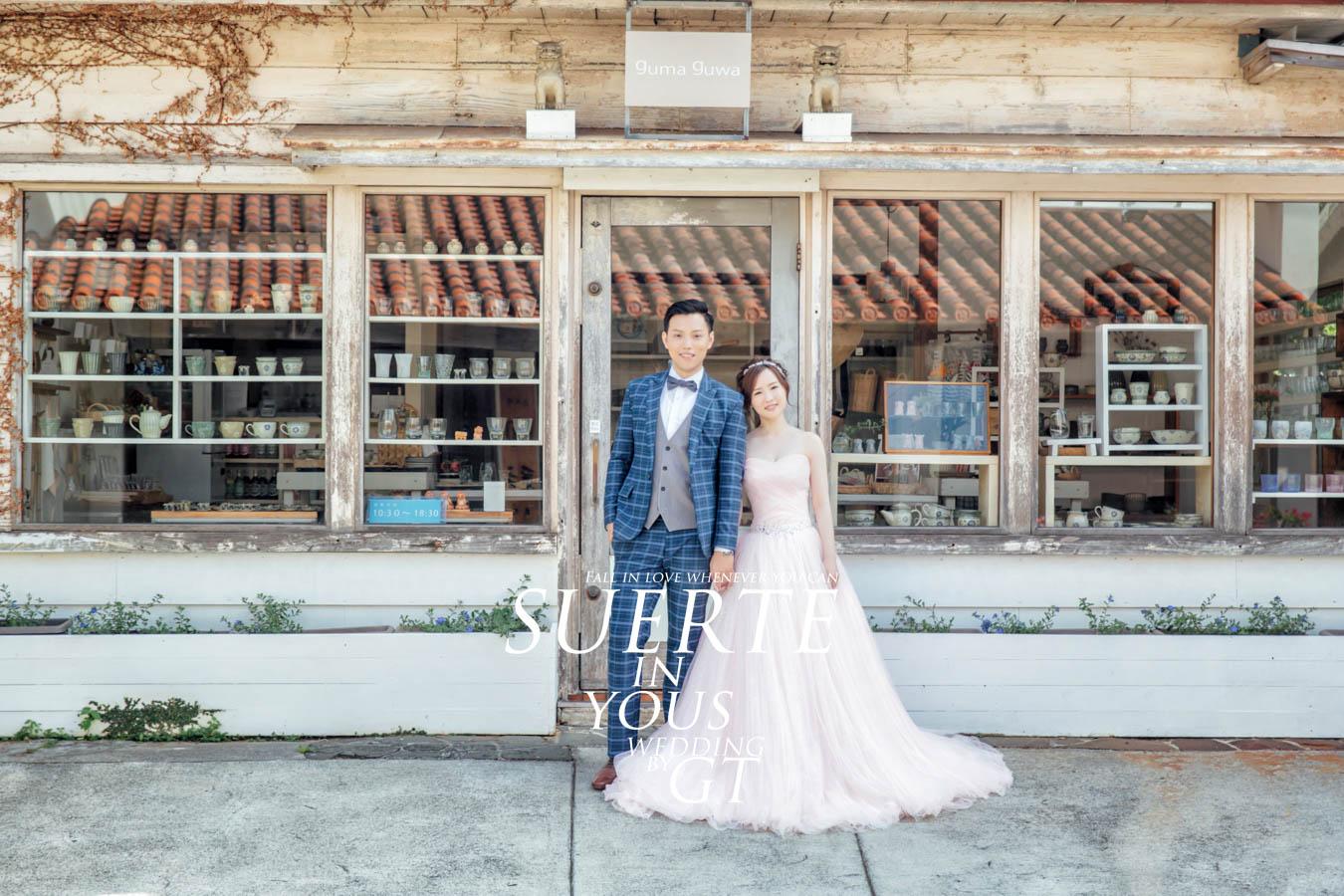 自助婚紗 | 書維+以晴   PREWEDDING 沖繩|海外婚紗|GT日本婚紗