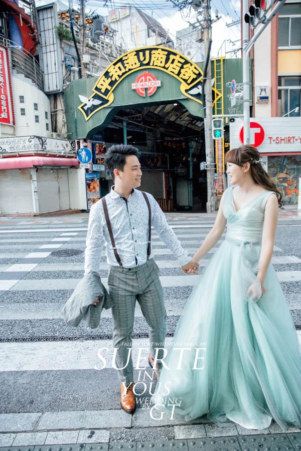 自助婚紗   嘉峰+佾蘋   PREWEDDING 沖繩 海外婚紗 GT日本婚紗