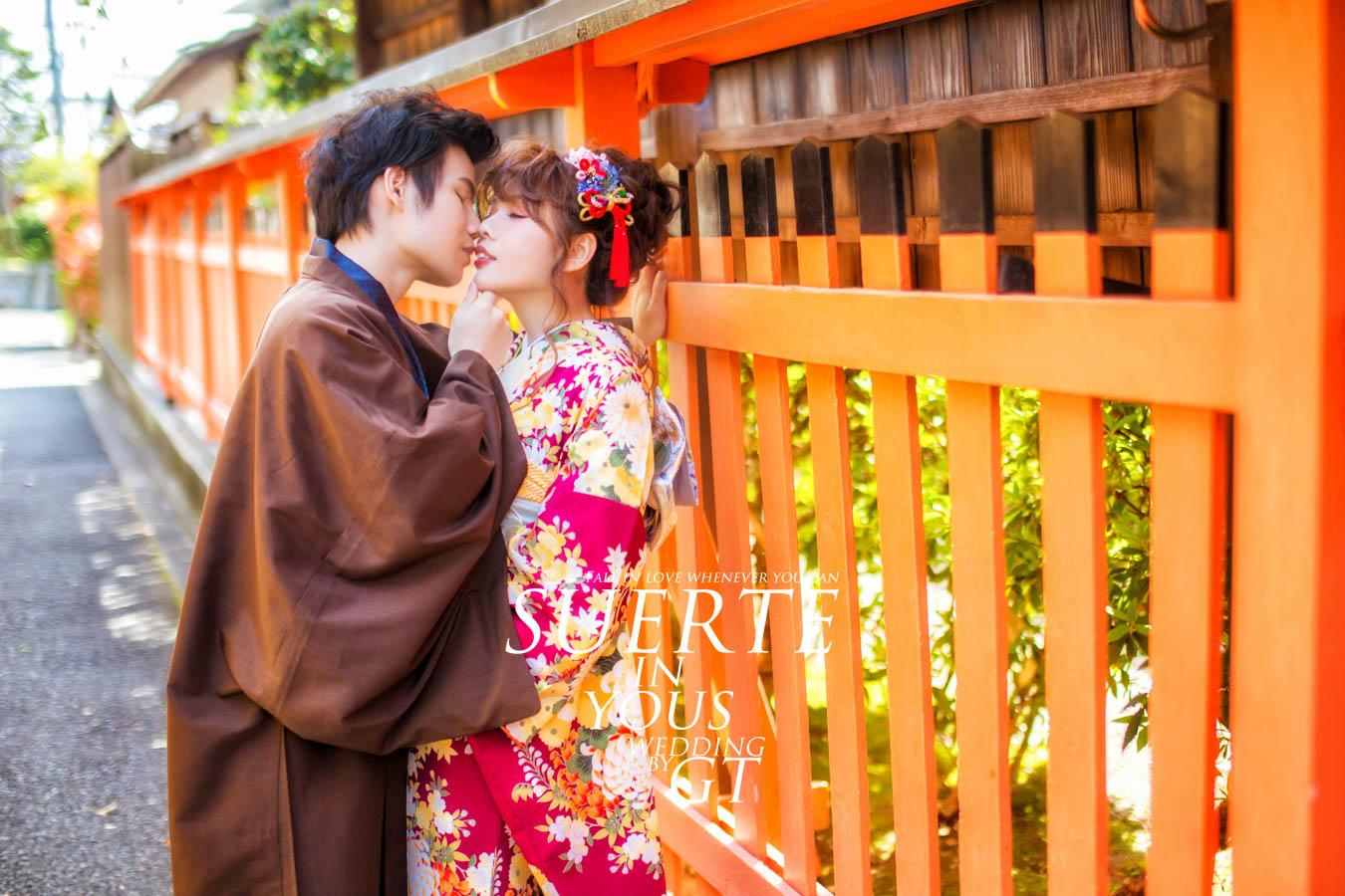 自助婚紗 | 子航+喵喵   PREWEDDING 京都|海外婚紗|GT日本婚紗