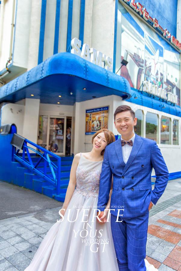 自助婚紗 | 大德+芷瑋   PREWEDDING 沖繩|海外婚紗|GT日本婚紗
