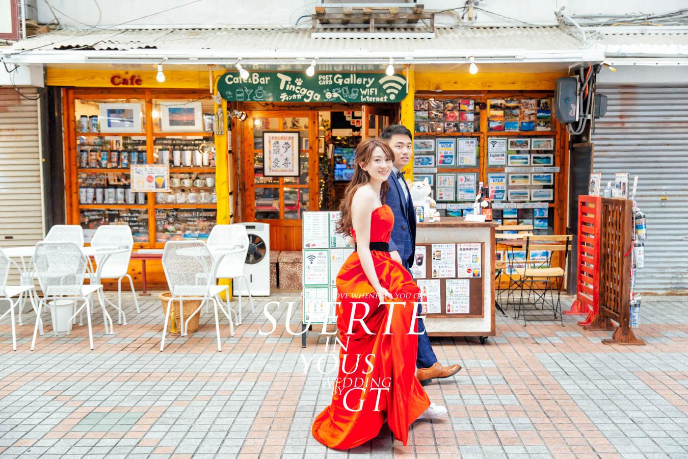 自助婚紗 | 鵬懿+雅筑   PREWEDDING 沖繩|海外婚紗|GT日本婚紗