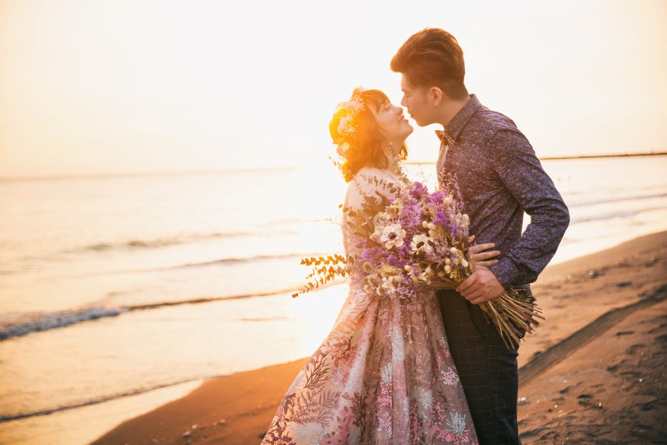 自助婚紗 | 翊睿+郁柔  PREWEDDING 愛情街角 白鷺灣  |國內婚紗|台南婚紗