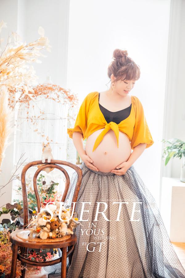 孕婦婚紗 | 杜林紙草手工婚紗 | GT攝影師